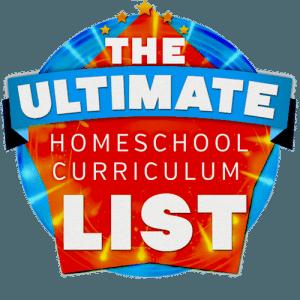 The Ultimate Homeschool Curriculum List